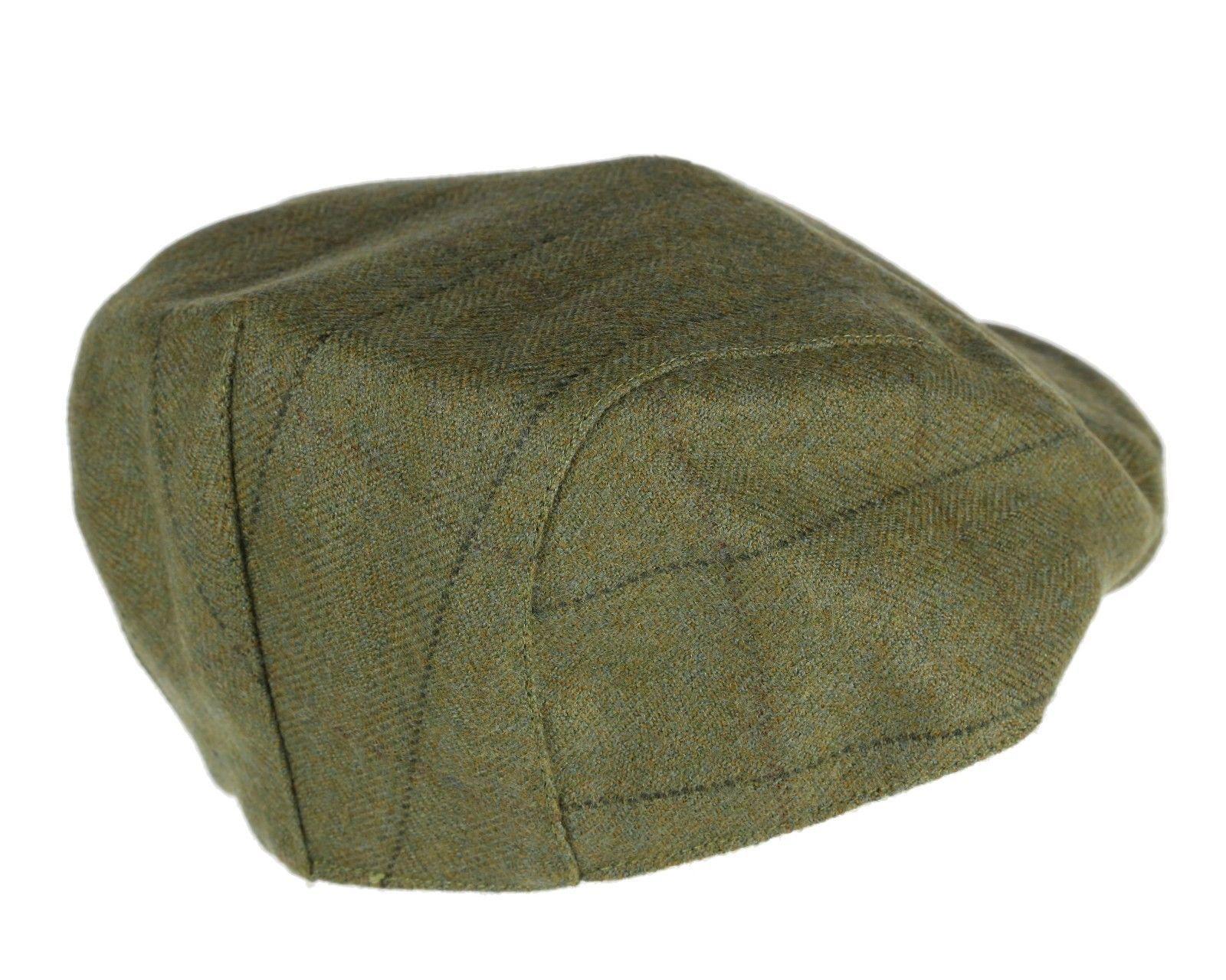 f64bb0ff023 Kensington Waterproof TWEED Flat Cap Traditional Country Hat Breathable New  Wool